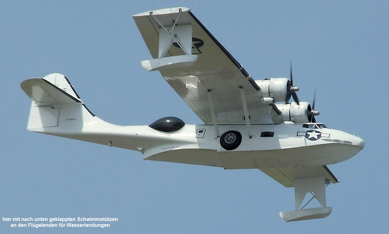 Canadian Vickers PBY-5 Canso Flug