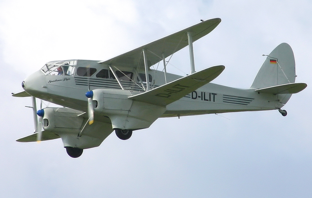 De Havilland DH 89 - Flug