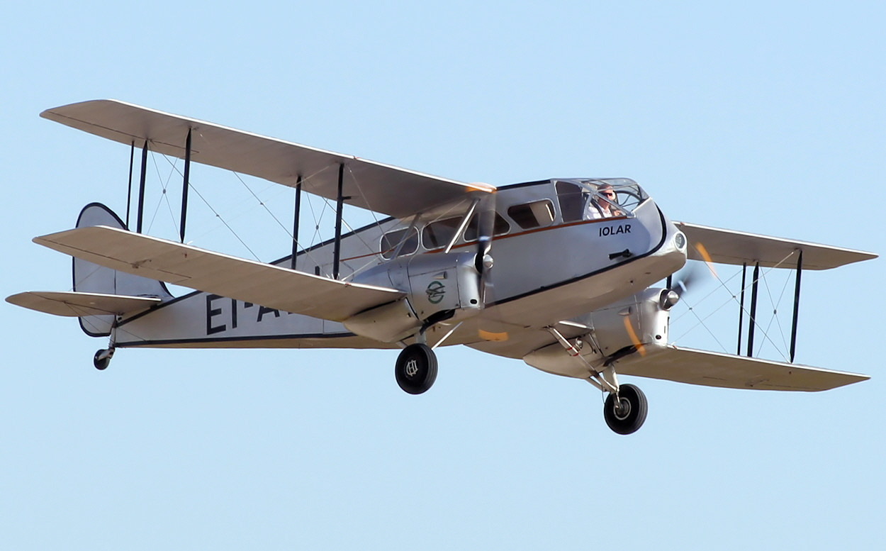 De Havilland DH 84 - Flug