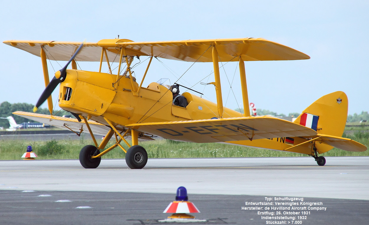 De Havilland DH 82 - Tiger Moth