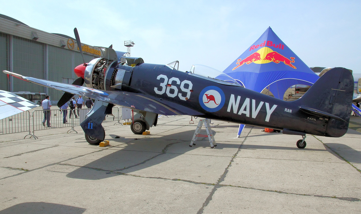 Hawker Sea Fury - Navy