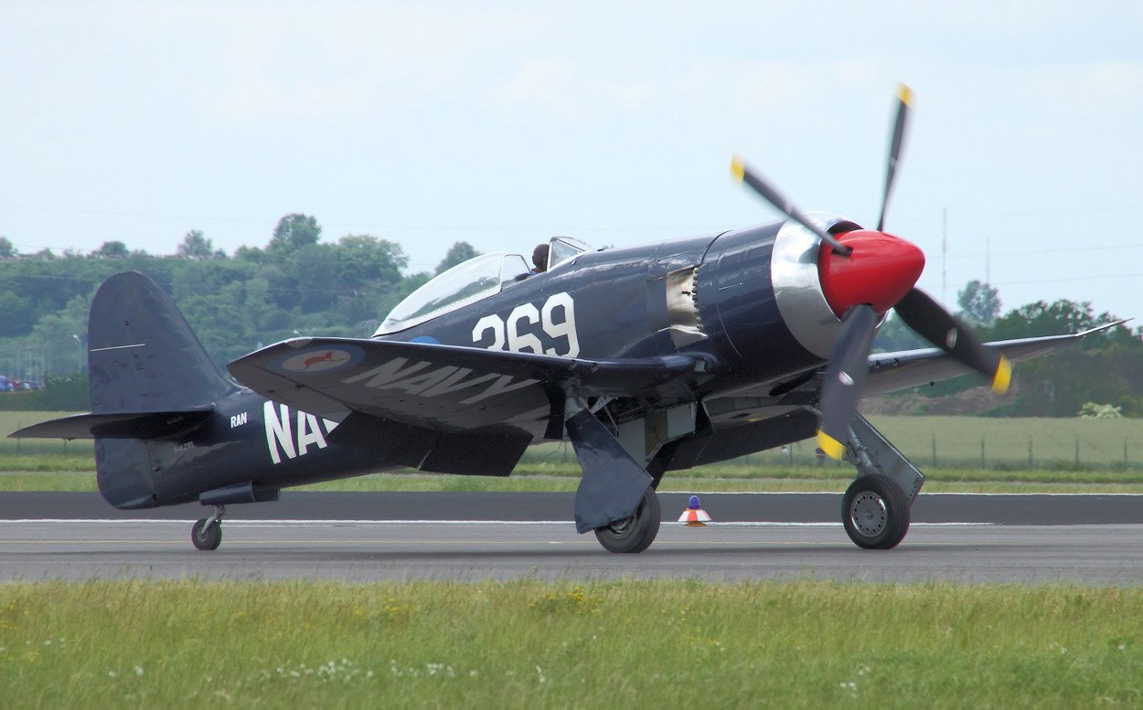 Hawker Sea Fury Royal Navy