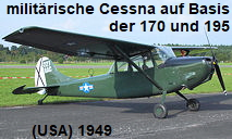 Cessna L-19 Bird Dog: militärische Version der Cessna 170