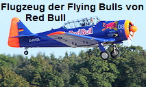 North American AT-6F - Flugzeug der Flying Bulls der Firma Red Bull