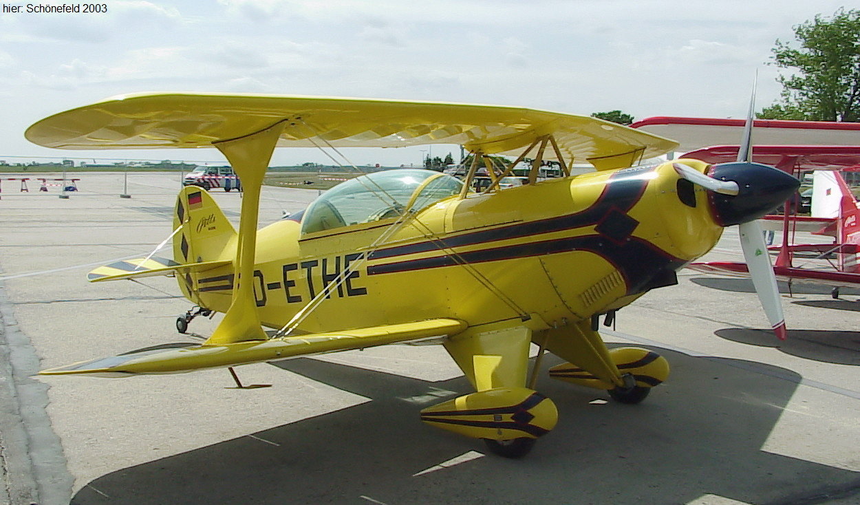 Pitts S-2B - Ingenieur Curtis Pitts