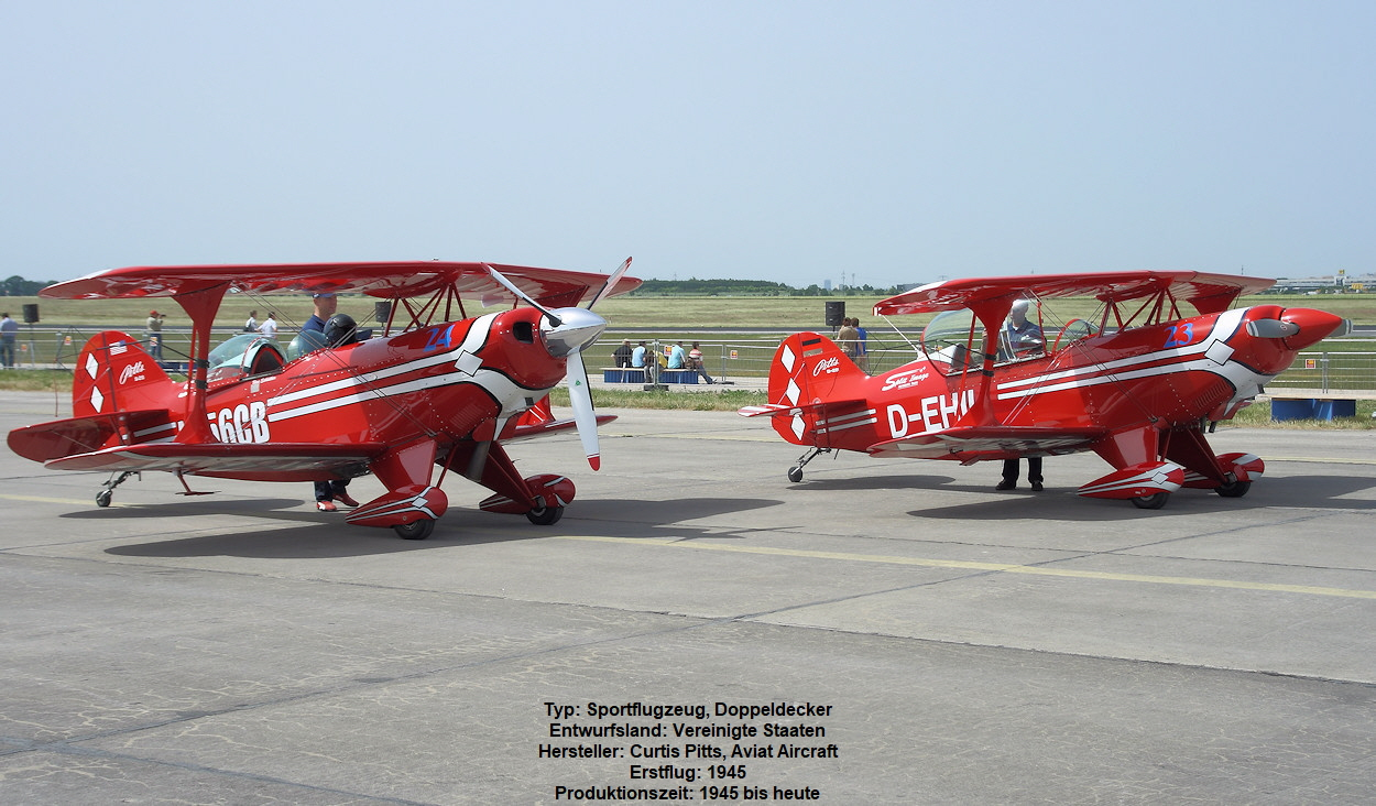 Pitts S-2S und Pitts S-2B