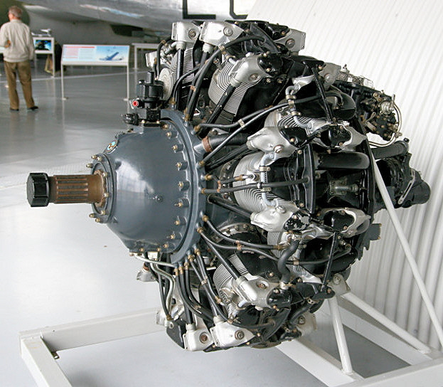 Pratt and Whitney Twin Wasp R-1830-90D