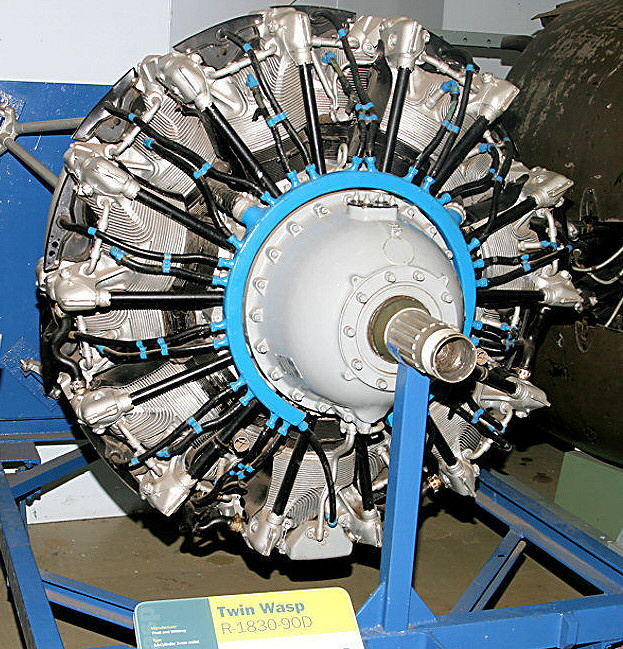 Pratt and Whitney Twin Wasp R1830-90D