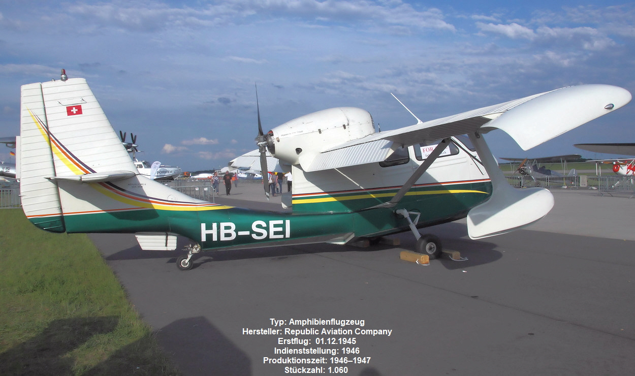 Republic RC-3 Seabee - HB-SEI