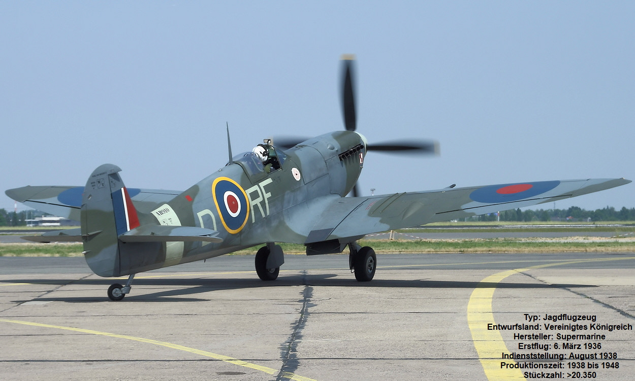 Supermarine Spitfire - Royal Air Force