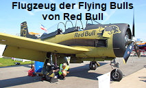 T-28 Trojan der Flying Bulls von Red Bull