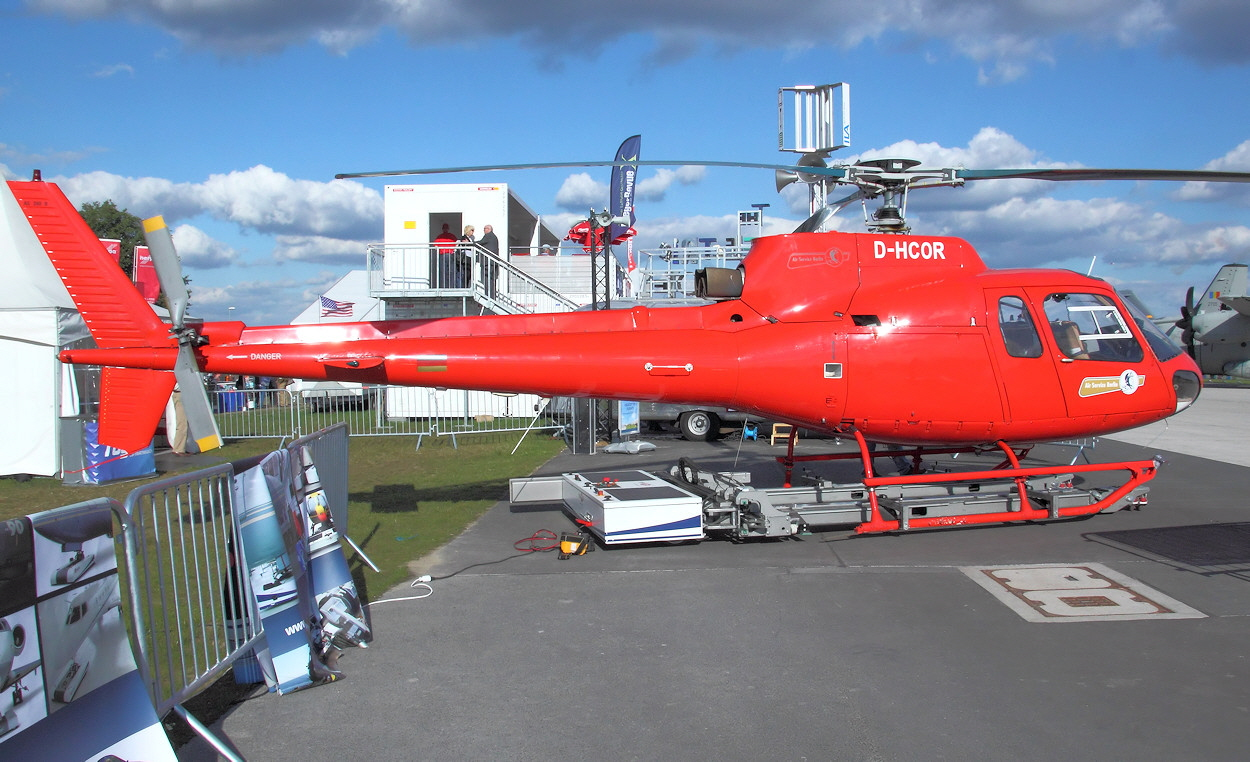 Airbus Helicopters H125 Ecureuil - D-HCOR