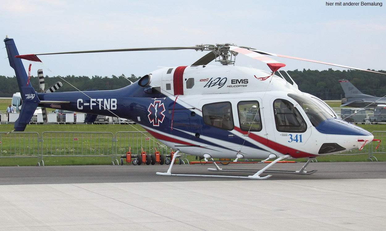 Bell 429 - C-FTNB EMS Helicopter