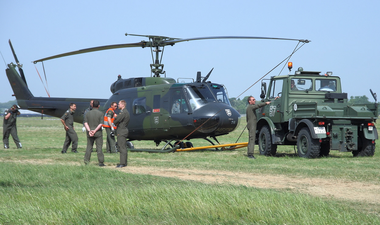 Bell UH-1D Iroquois - HUEY als Spitzname