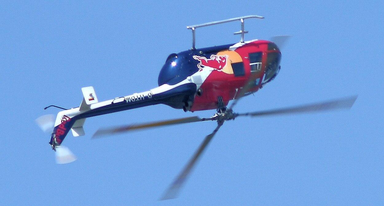 Bölkow Bo 105 - Looping