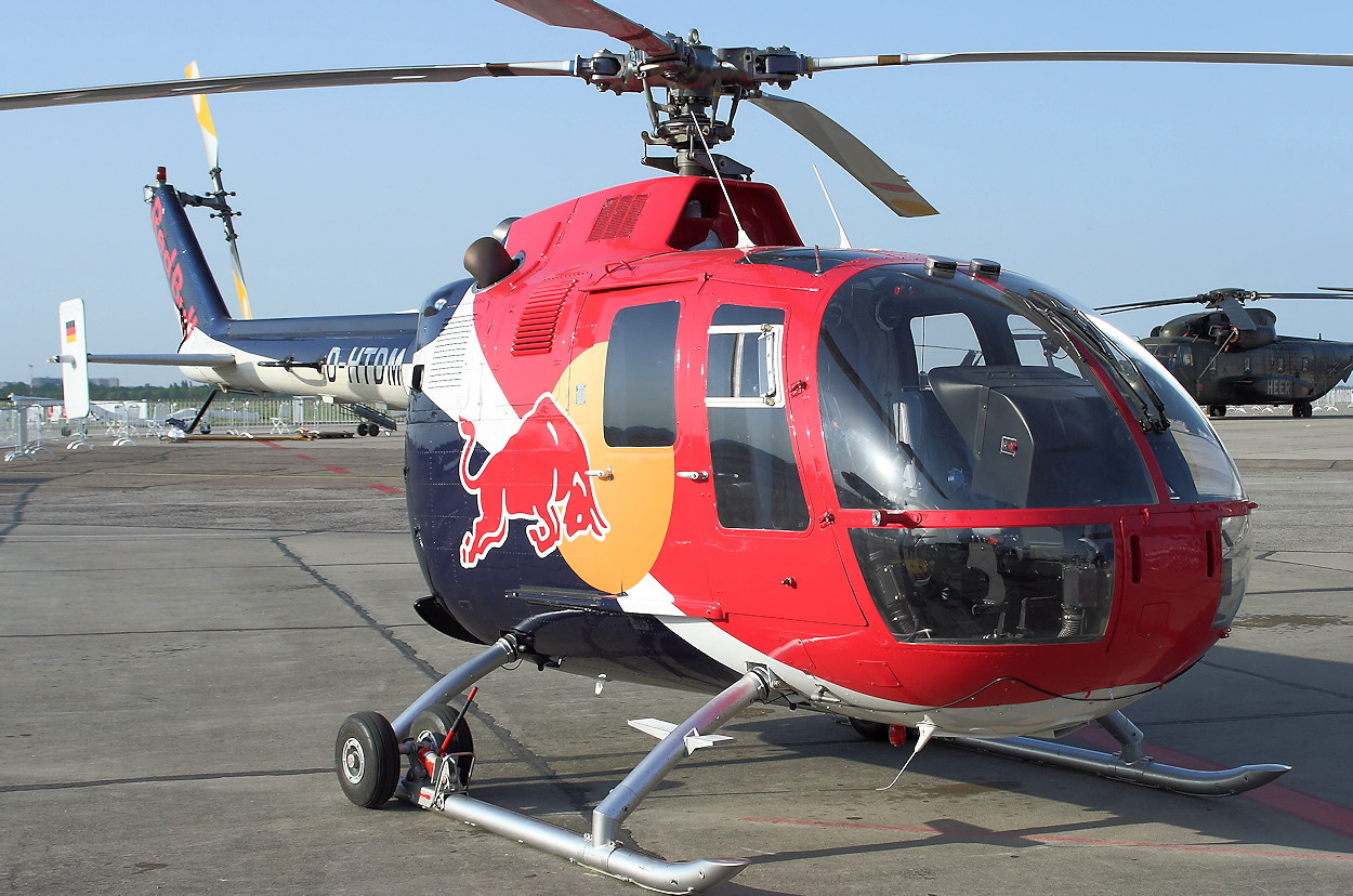 Bölkow Bo 105 - Red Bull
