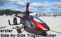 Cavalon - Gyrocopter -- 1. Side-by-Side Tragschrauber