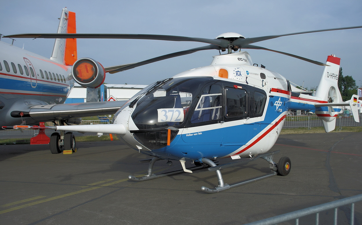 Eurocopter EC 135 ACT FHS - DLR