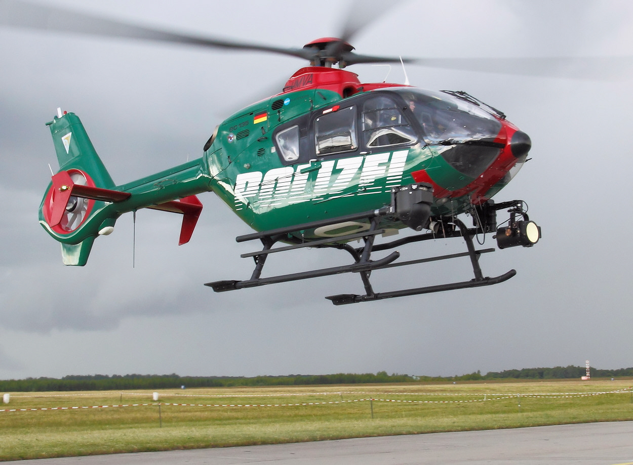 Eurocopter EC135 - Polizeihelikopter