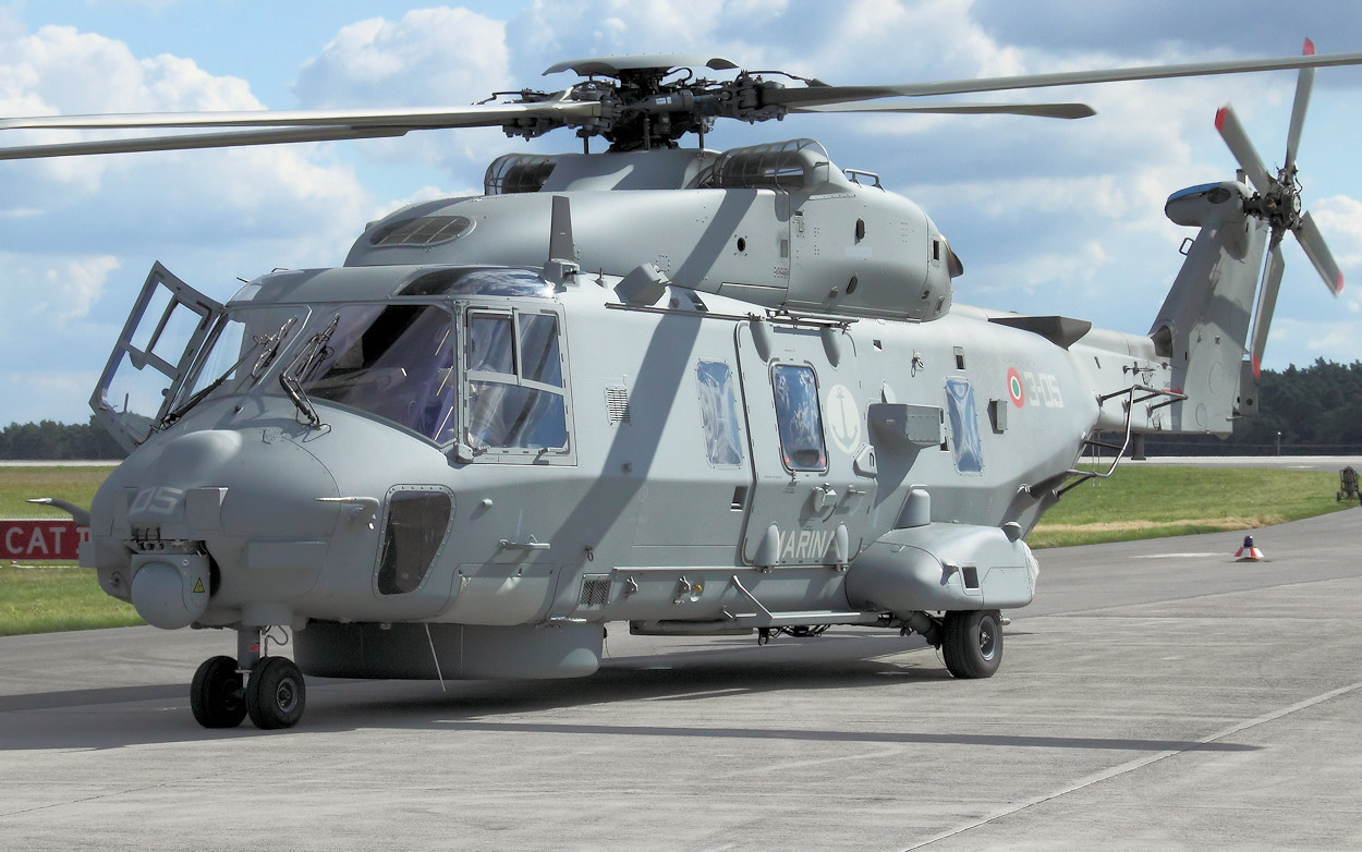 NH90 NTH Sea Lion - Flugzeugmesse
