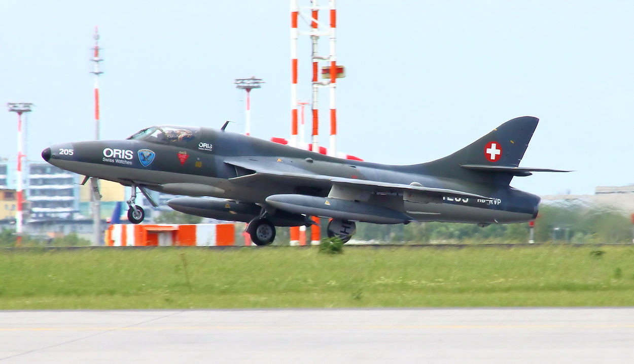 Hawker Hunter Mk. 68 - Startphase