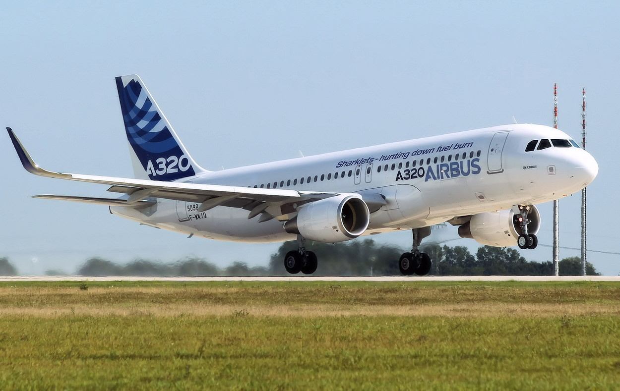 Airbus A320 Sharklets - Start