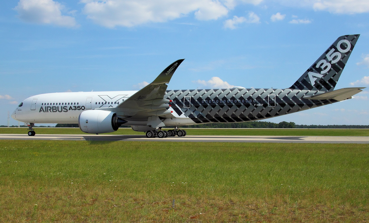 Airbus A350 - Rollfeld