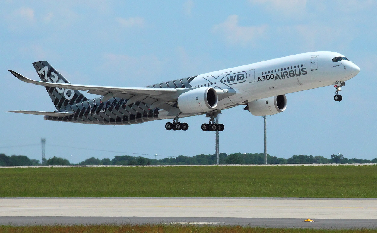 Airbus A350 - Startphase