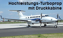 Beechcraft King Air 350: zweimotoriges Hochleistungs-Turbopropflugzeug mit Druckkabine