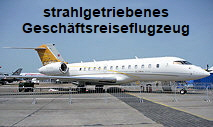 Global 5000 - strahlgetriebener Business Jet