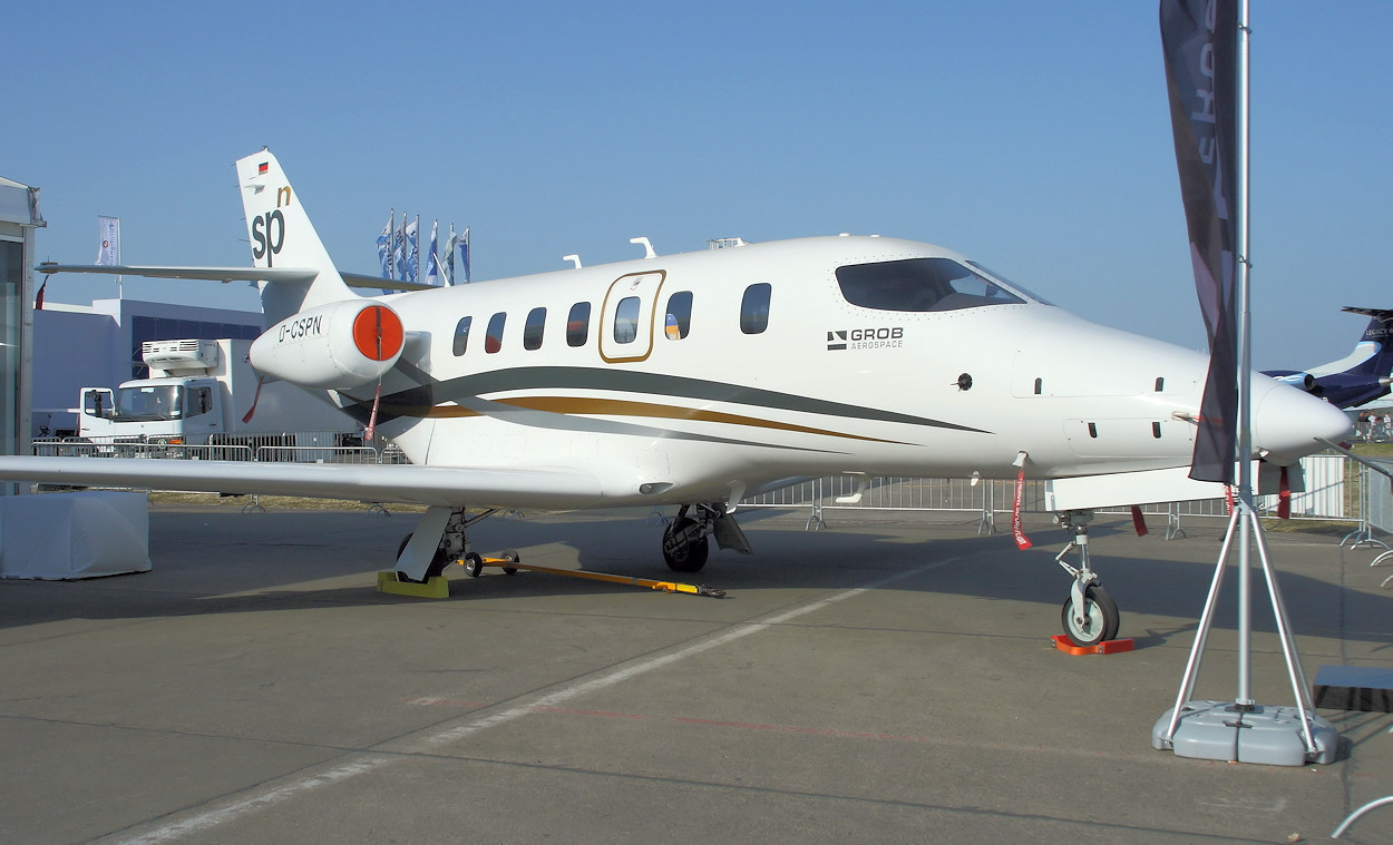 Grob G 180 SPn - Business Jet