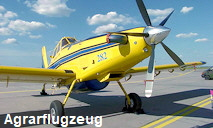 Air Tractor AT- 402: klassisches Agrarflugzeug der US-Firma Air Tractor Inc.