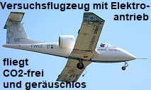 Airbus E-Fan - 1. Version mit Elektroantrieb