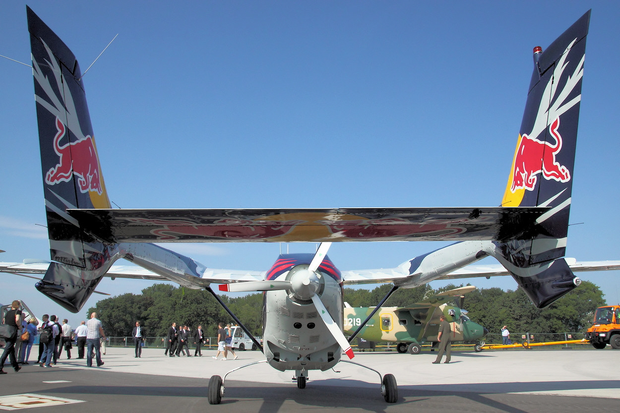 Cessna 337 Super Skymaster - Schubpropeller