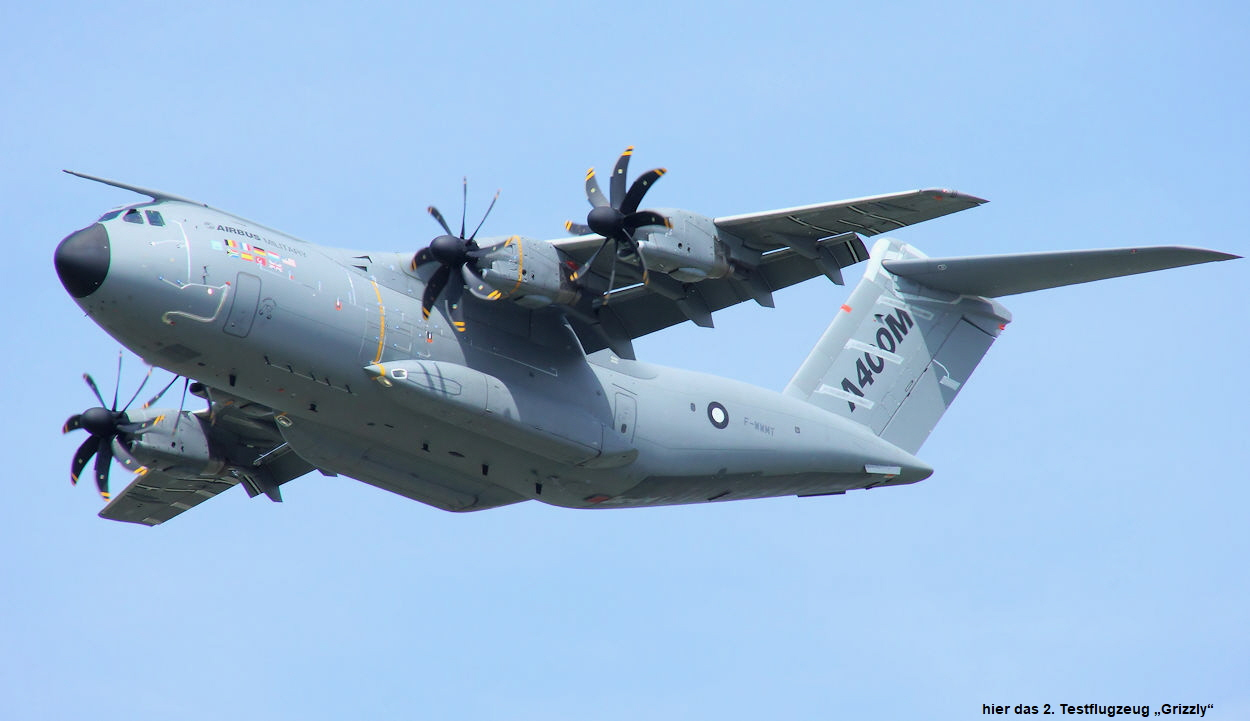 Airbus A400M - Anflug