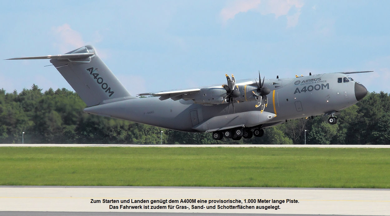 Airbus A400M - Startphase