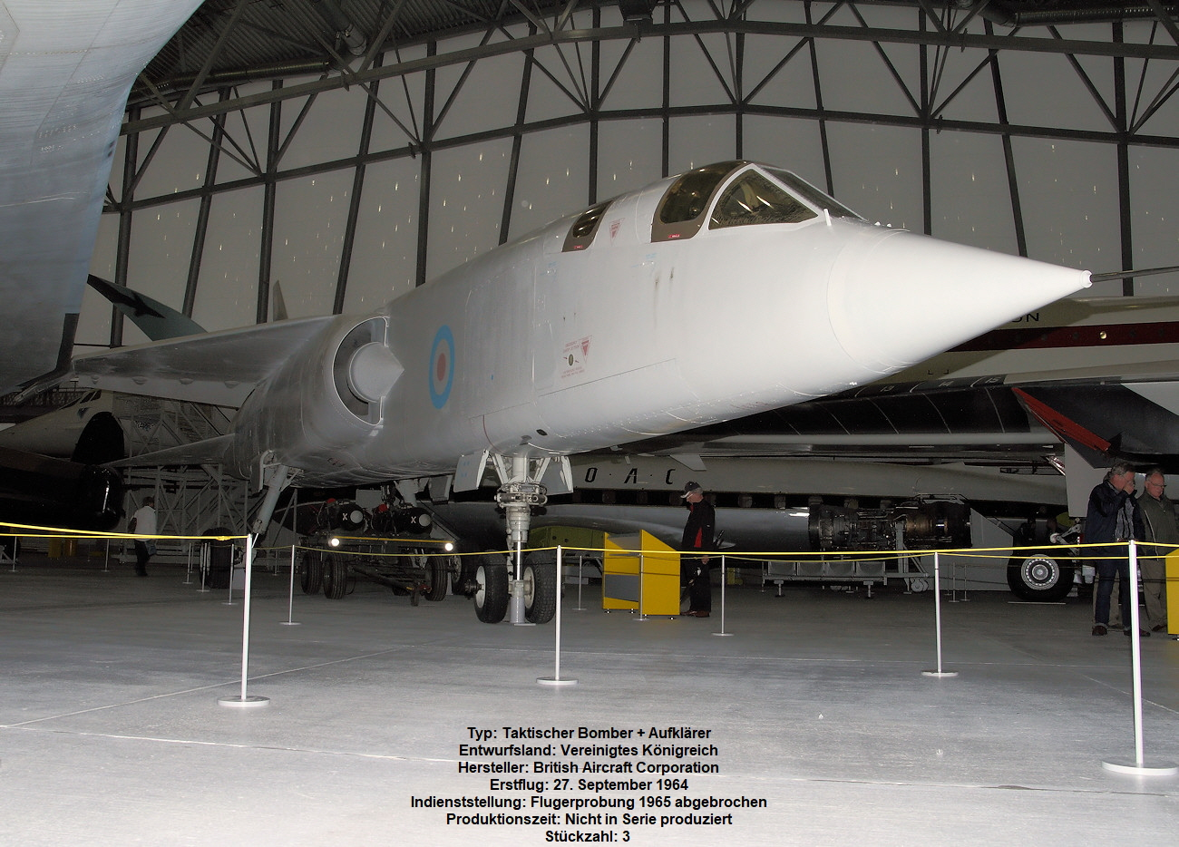 BAC TSR.2 - Tactical Strike and Reconnaissance 2