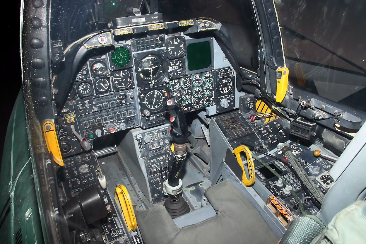 Fairchild-Republic A-10 Cockpit