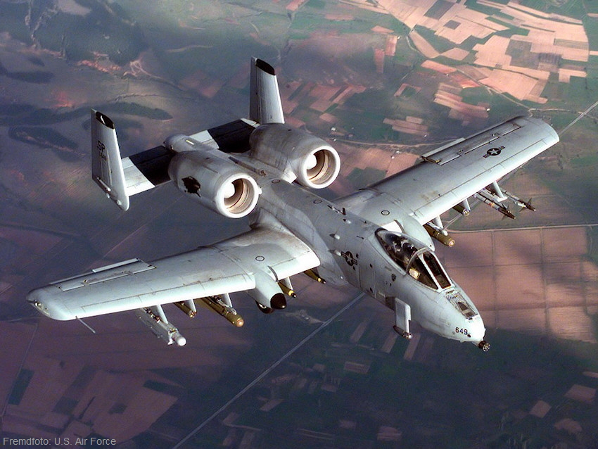 Fairchild Republic A-10 Thunderbolt II - Flug